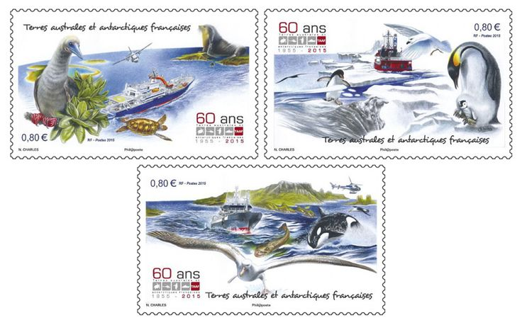 COLLECTORZPEDIA 60 Years of French Southern and Antarctic Territory