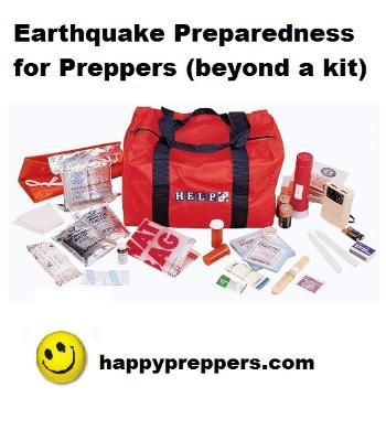An Earthquake Emergency Preparedness Plan for Preppers: http://www.happypreppers.com/quake.html