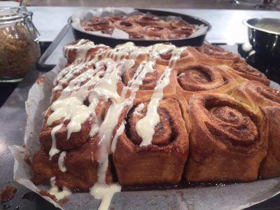 Ρολά κανέλας (Cinnamon rolls) 06jan17
