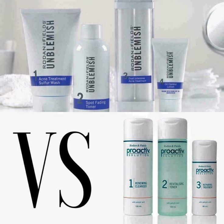 WHAT IS THE DIFFERENCE BETWEEN PROACTIV AND UNBLEMISH? Yes, they were created by…