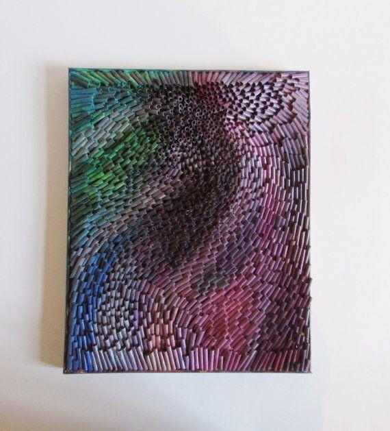 Recycling Kunst 3D abstraktes Bild Collage auf von fantasmania