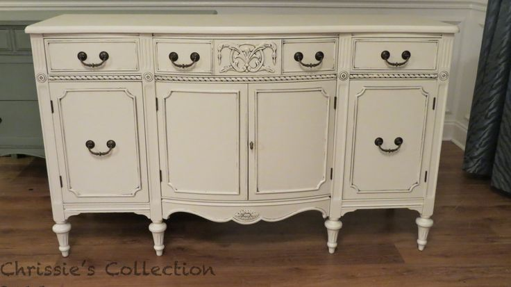 Buffet in General Finishes Antique White. By Chrissie's Collection - 127 Best General Finishes Images On Pinterest Furniture Redo