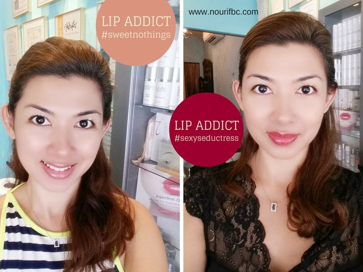 Achieve natural and beautiful looks for day and night with LIP ADDICT Lipglosses.
