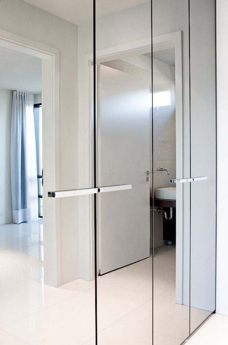 Best 25 mirrored wardrobe ideas on pinterest mirrored wardrobe bright and luminous luxury apartment by with mirrored wardrobes mirrored closet doors modern vtopaller Image collections
