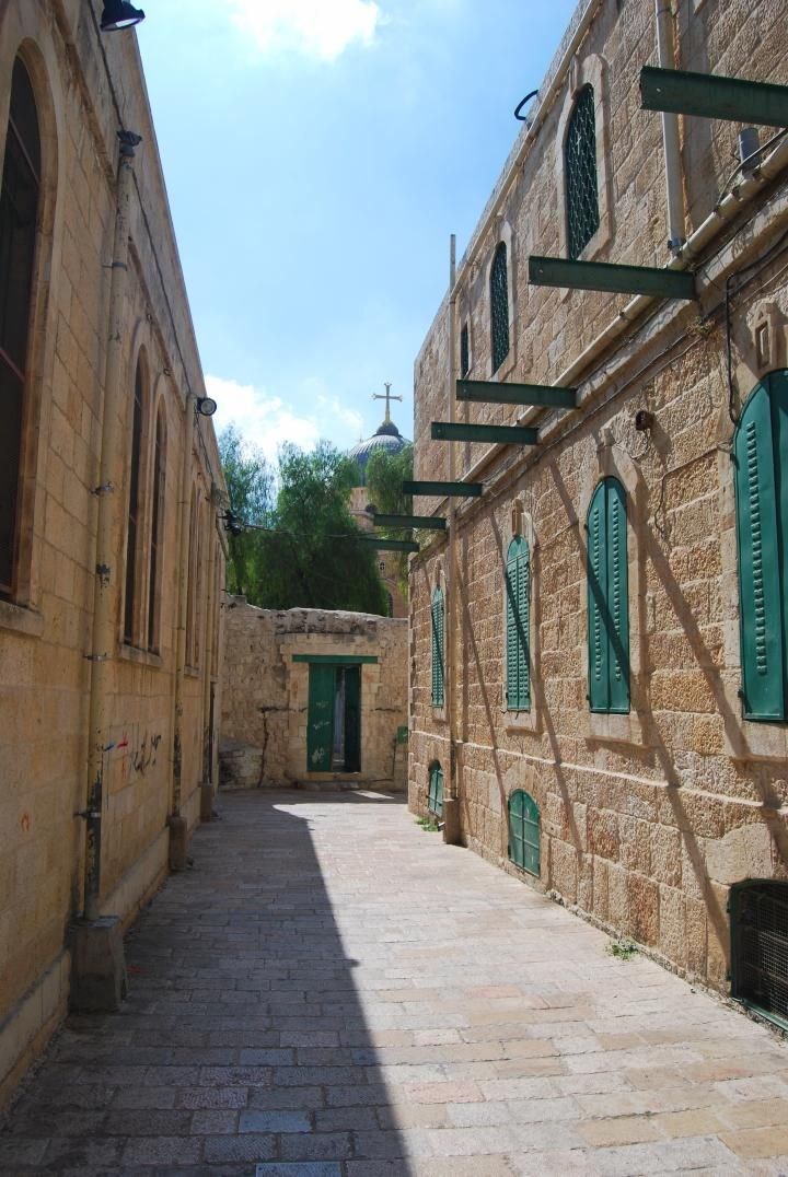 VIA DOLOROSA --The street where Jesus walked to Calvary. Everyone that celebrates Easter should view this site. It has amazing pictures of where Our Lord walked to Golgotha.