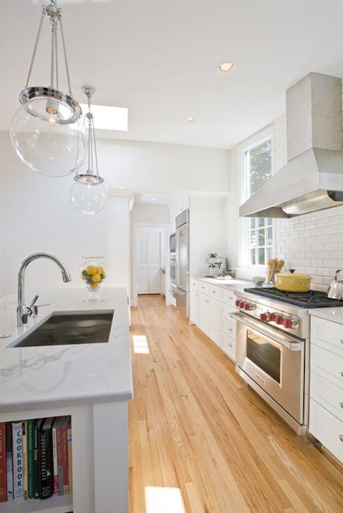 White Kitchen Light Wood Floors best 25+ kitchen hardwood floors ideas that you will like on