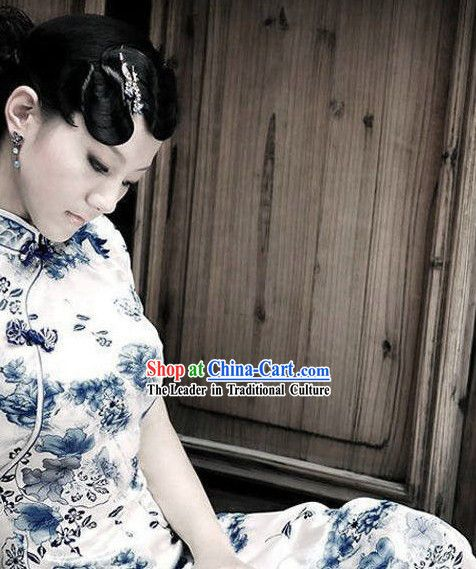 Chinese Classical Ceremaic Style Qipao Little Rock