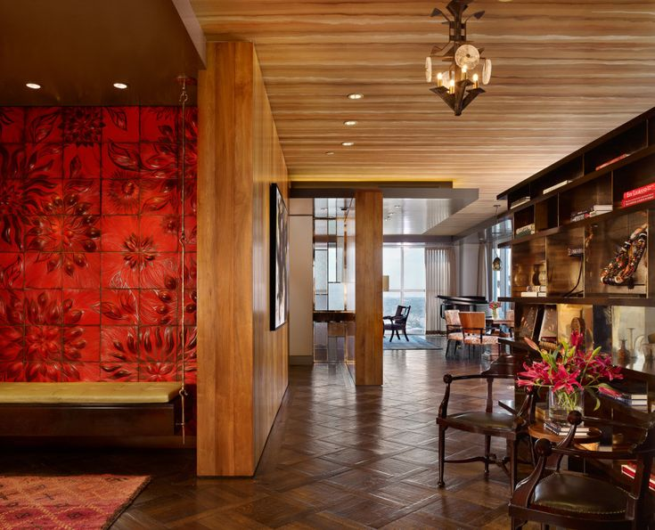 Affordable Cravotta Interiors Project Four Seasons Penthouse View Of Entry With Austin Interior Design Firms
