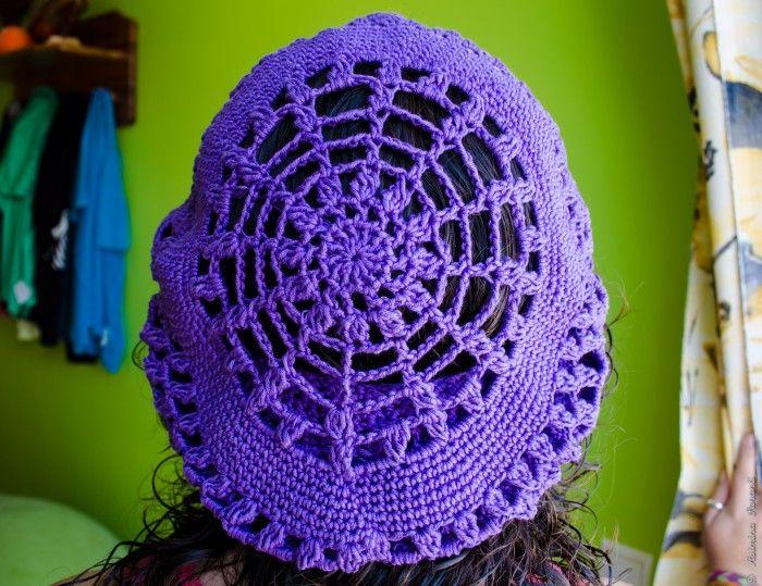 Ein Hut für Sommer - Crochet Beret Pattern - Über den Traum - 2.99 €
