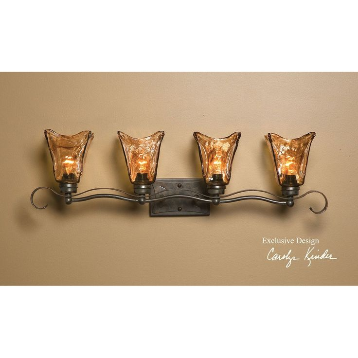 Uttermost Vetraio 4 Light Bronze Vanity Strip 22845