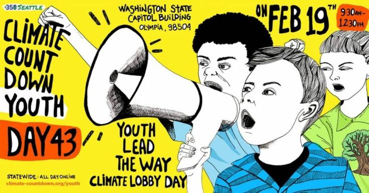 Demanding 'Bold Climate Action,' Youth Rally in Washington State Capitol