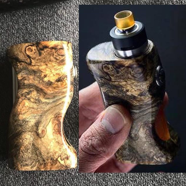 E-qub stabwood mosfet squonk Poland | High End Vaping in 2019 | Vape