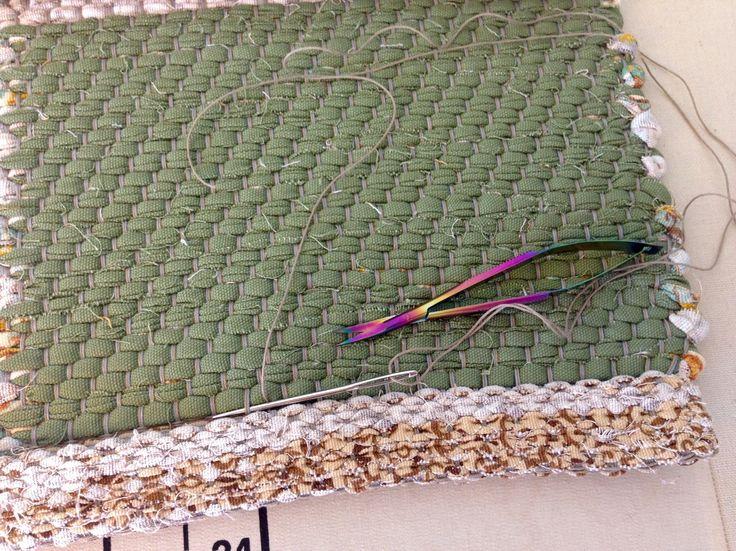 Tips For Hand Hemming Rag Rugs Weave Inspiration