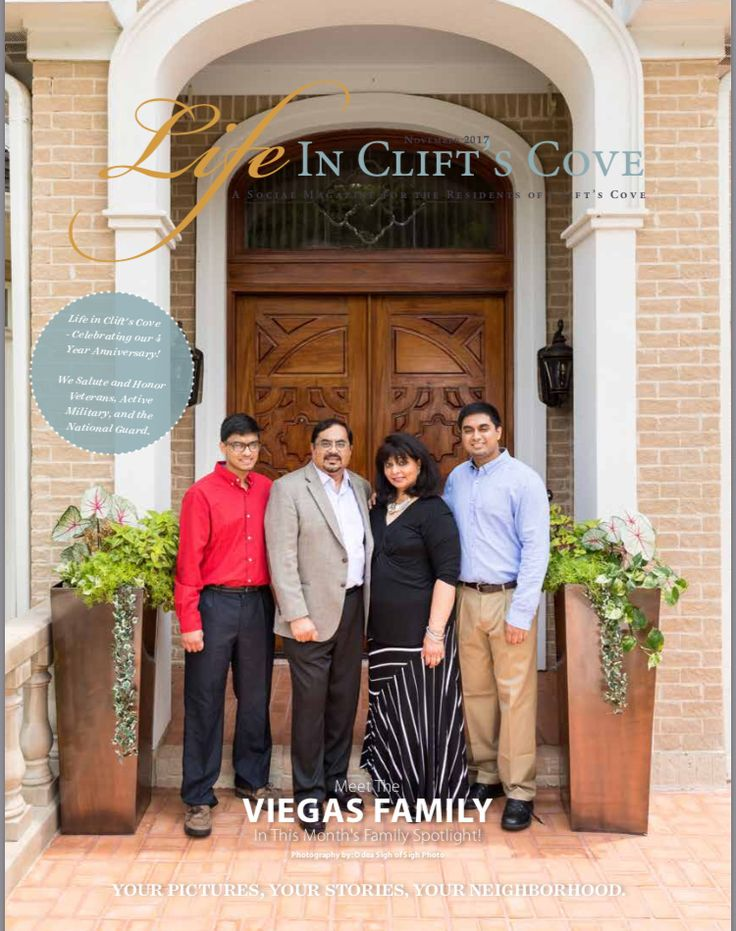 Meet the Viegas family in the November issue of Life in Clift's Cove!   We appreciate Well Blended Nutrition for Sponsoring the Family Spotlight pages. www.awellblendedlife.com  Family Spotlight photography by SighPhoto 256-777-8659 Website: www.sighphoto.com