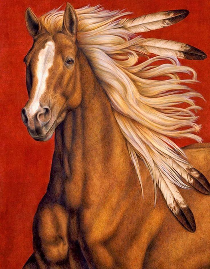 Souvent Les 25 meilleures idées de la catégorie Tatouage cheval indien sur  FH52
