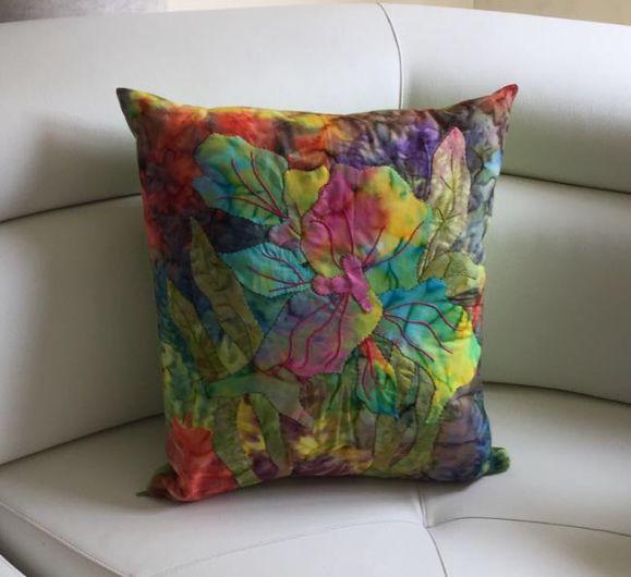 Patchwork batik elaborado por Liliana orozco