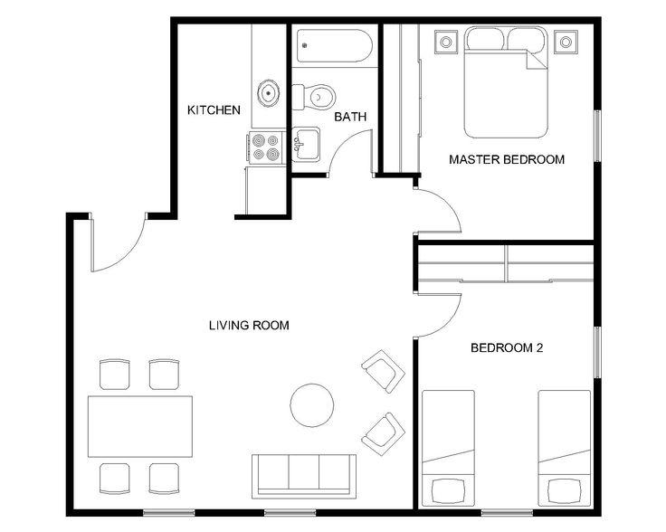 30 best images about construction picks on pinterest for 8 unit apartment floor plans