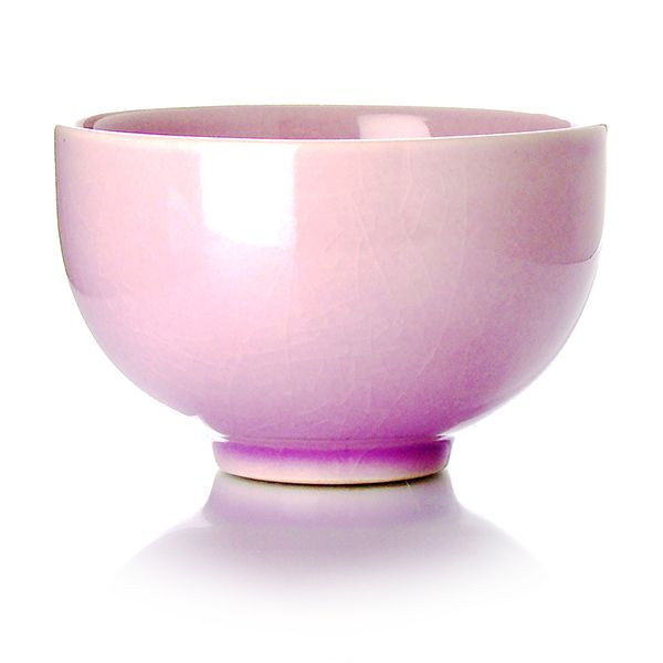TAIPING - Bol en céramique - émail parme