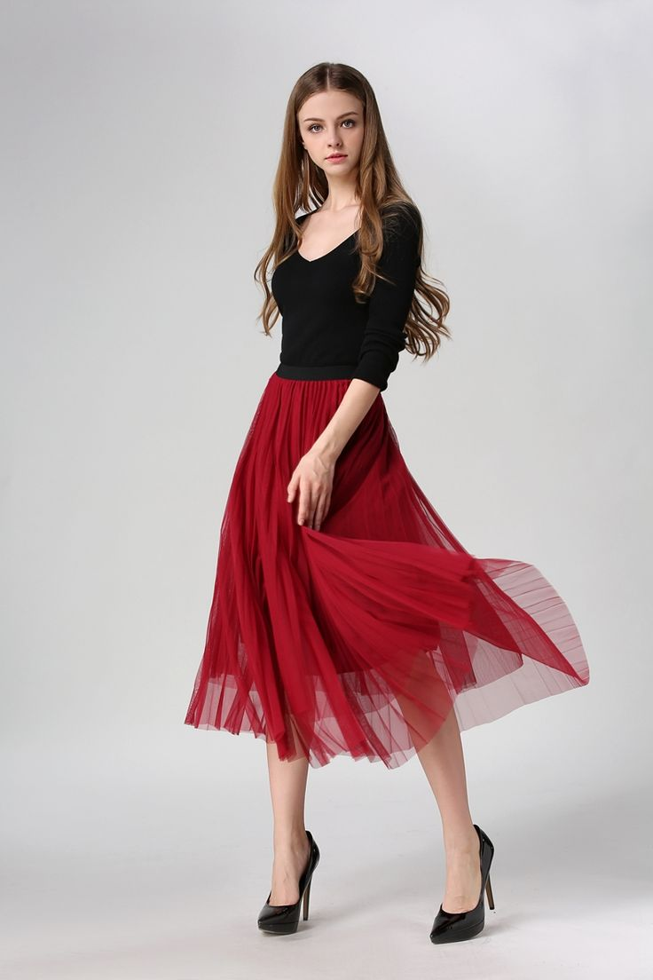 Real shot 2016 spring and summer fashion wild big gauze skirt pleated bust skirt Long skirt, free shipping