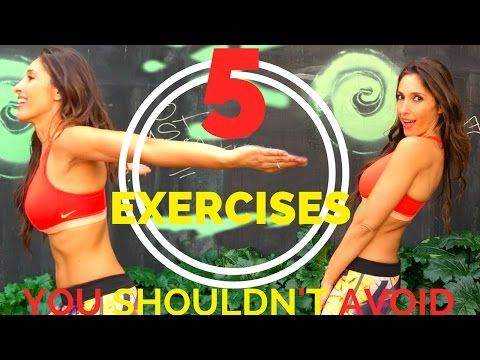 Get a Flat Stomach and Slim Waist in 30 days | Standing Abs Exercises - YouTube