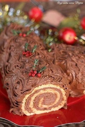 Tronchetto di Natale,Oggi cucina nonna Virginia