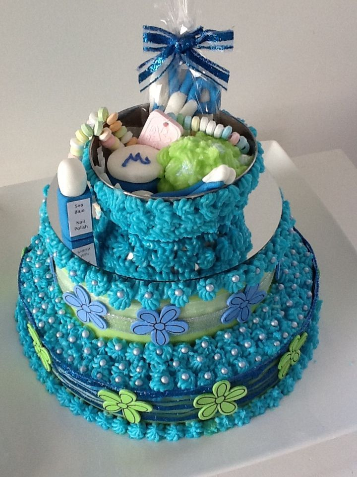 Best Spa Party Images On Pinterest Spa Birthday Parties - Spa birthday party cake
