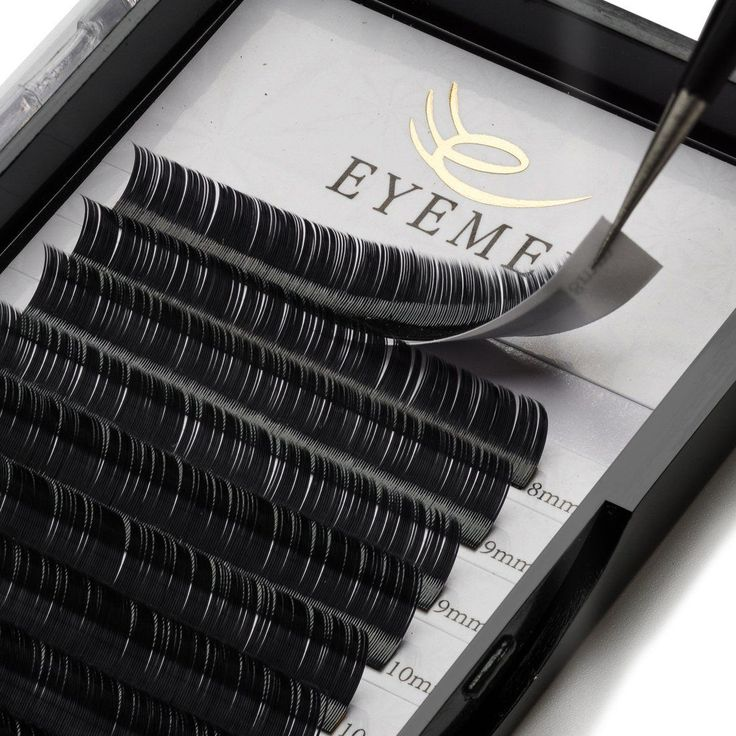 Flat Eyelash Extensions 0.20mm C Curl 8-14mm Mixed Tray 3D Individual Ellipse Eyelash Soft False Lashes Extension Salon Professional Use by EYEMEI. Material: The flat eyelash extensions use PBT from Korean,100% handmade eyelash extensions,hypo-allergenic,cruelty-free. Advantage: Natural Looking, Soft, Easy remove, No residue, No kink. Material: Korea PBT Fiber; Thickness: 0.20mm; Curl: C Curl. The 0.20mm flat eyelash extensions only a fraction of the weight of normal eyelash extensions....