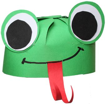 Chapeau tête de grenouille