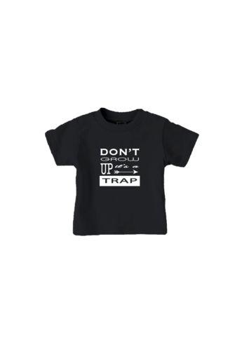 don't grow up t-shirt black