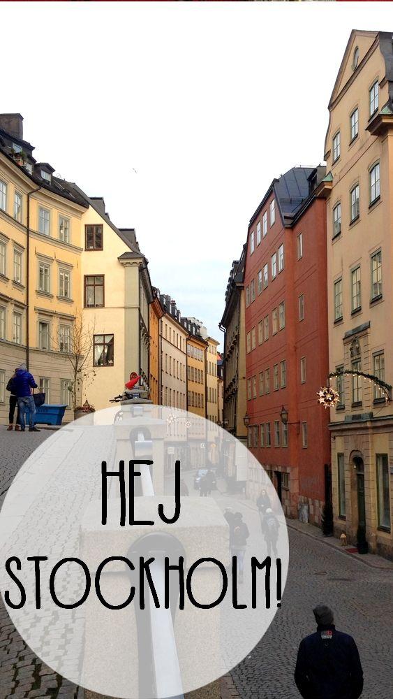 Découverte de la fantastique capitale suédoise