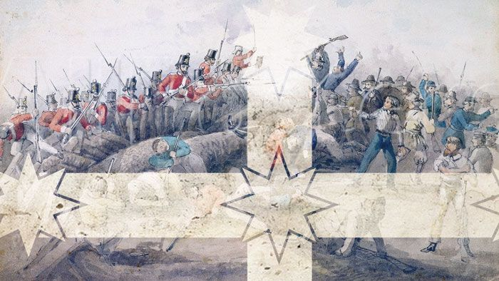 Today is a significant day and not just because it's the last BtN of the year. It's also the anniversary of a very famous event in Australia's history called the Eureka Stockade. Sarah visited Ballarat in Victoria to find out what it was and why it's so important.