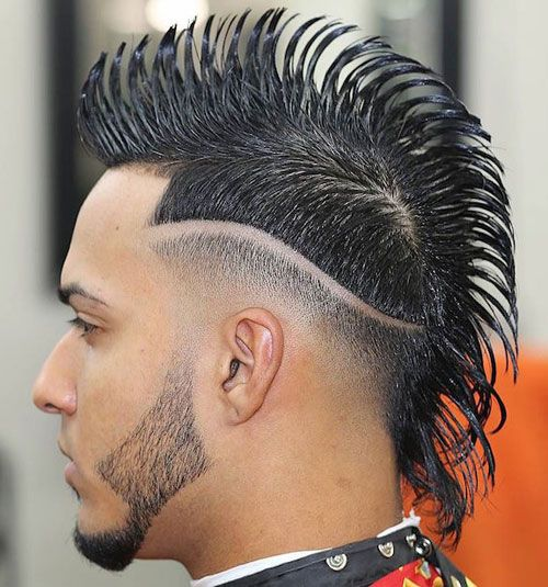 Mohawk Stylish Hairstyle Trendy Hairstyles For Men