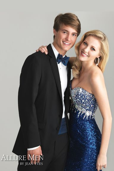 Jean Yves - Allure Men - Allure Collection  What glamorous looks like for PROM!  Style Number: 10256