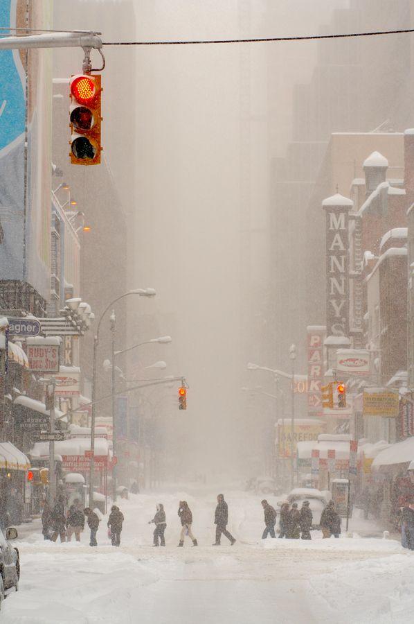 West 48th Street, Manhattan, NYChristmas Time, New York Cities, Winter Looks, Cities Street, Winter Wonderland, White Christmas, The Cities, Newyork