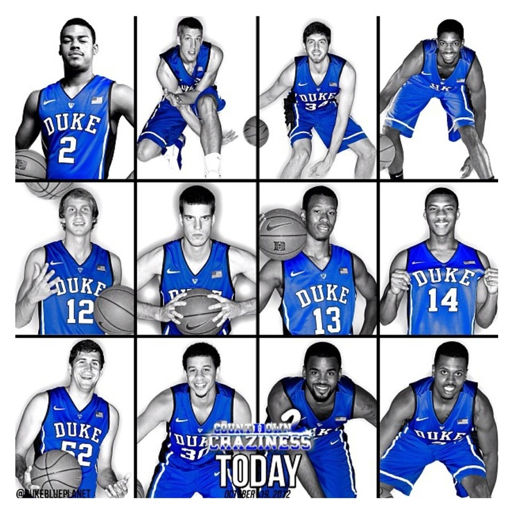 2012-2013 Duke Basketball team