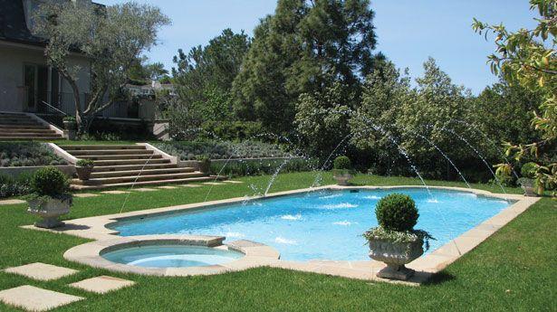 Image Result For Formal Pool Landscaping Garden Pool Design