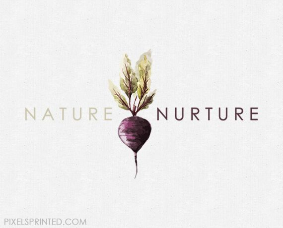 ready made nutritionist logo, chef logo, nutritionist logo. vegan chef logo, personal chef logo, raddish logo, vegetable logo, modern nutritionist logo, catering logo