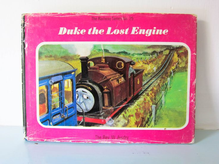 First Edition Thomas the Tank Engine book, Duke the lost Engine, Railway series no. 25, steam engine, vintage children's book, collectable. by thevintagemagpie01 on Etsy