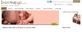 Boxmeup is the best site to find unique Baby Gifts including gifts of attractive designs and colors for new baby's family, new mothers and gift ideas. We also provide different types of gift baskets to carry gifts. For more information please visit: - http://www.boxmeup.co.nz/