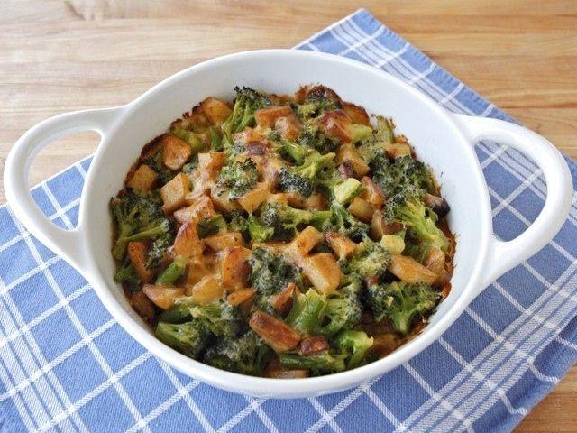 Broccoli Idaho Potato Gratin