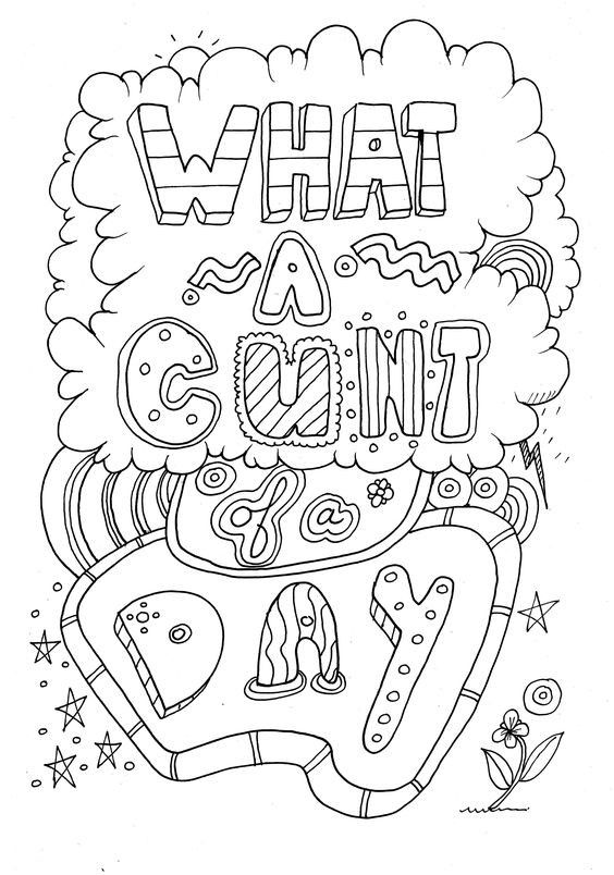 Pin By Valarie Ante On Adult Swear Word Coloring Pages Pinterest