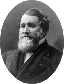 Cyrus Hall McCormick, Sr. (1809–1884) was an American inventor and founder of the McCormick Harvesting Machine Company, which became part of International Harvester Company in 1902. From the Blue Ridge Mountains of Virginia, he and many members of his family became prominent residents of Chicago.