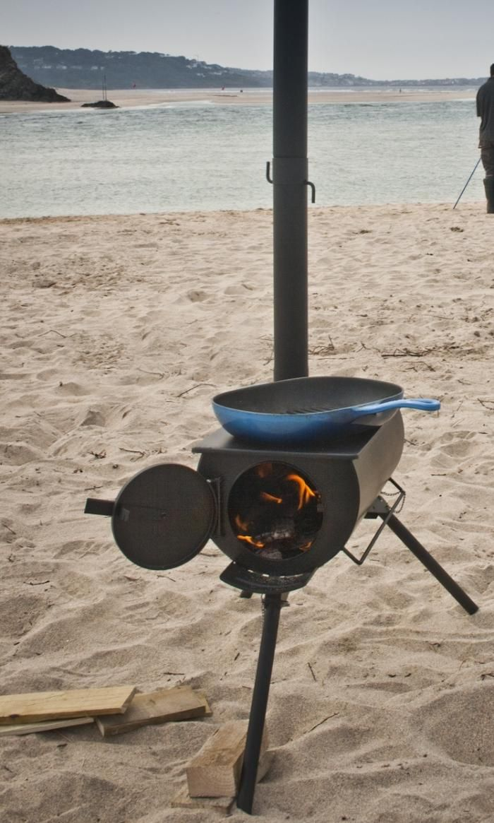 Frontier Stove - portable camping stove.