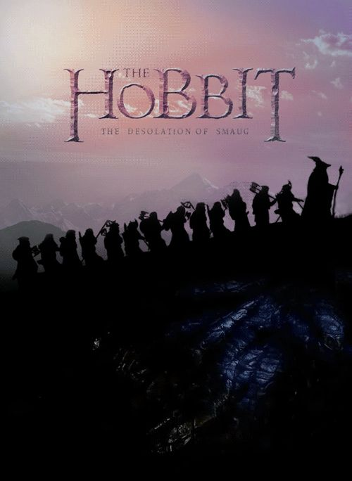 Movie Posters Are Infinitely Better as Mesmerizing GIFs | The Hobbit: The Desolation of Smaug  via Imgur  | WIRED.com
