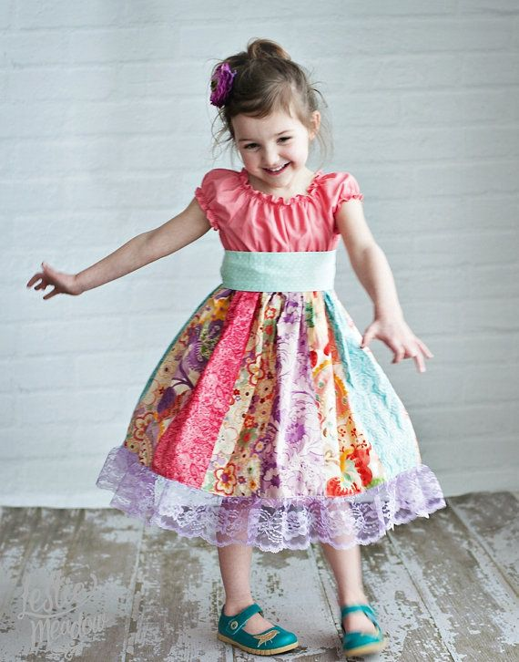 The Peony dress by Corinna Couture Easter 2014 by CorinnaCouture, $56.00