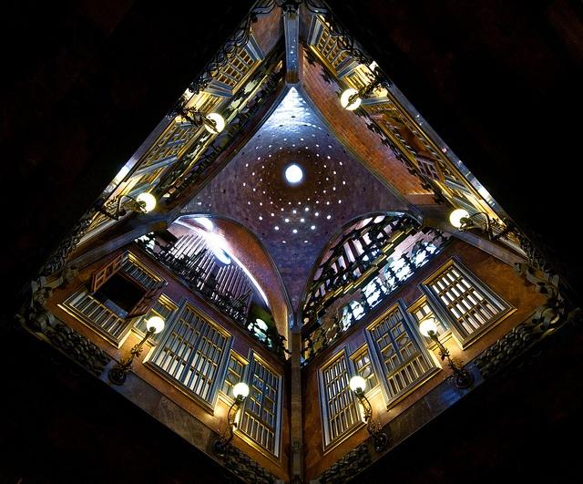 Gaudi Museum Ceiling