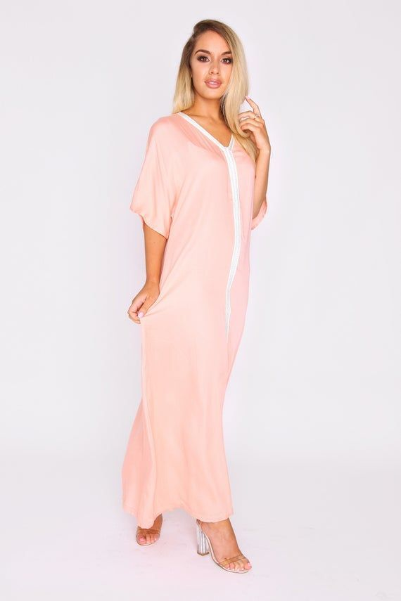 Womens Kaftan Maxi Dress Feliz