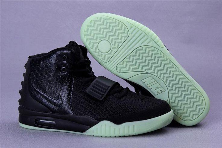 Mens Air Yeezys Black Green shoes