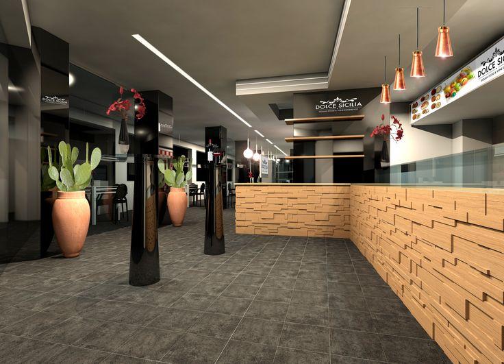 Interior solution for a Maltese restaurant