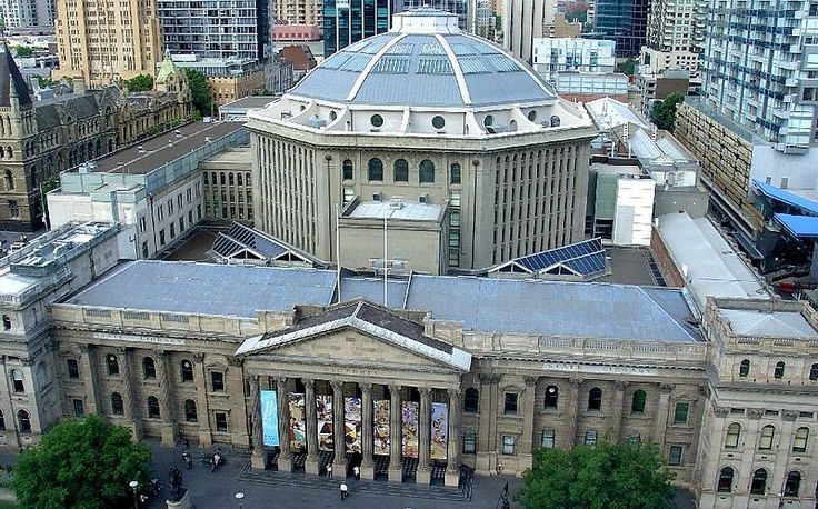 Victorian State Library - Australia. This library is not only massive – containing over 2 million books – it also has some fantastic rarities, including the diaries of the city's founders, folios of Captain James Cook, and the armor of famed outlaw Ned Kelly.